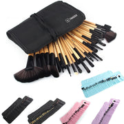 Online discount shop Australia - 32Pcs Set Professional Makeup Brush Foundation Eye Shadows Lipsticks Powder Make Up Brushes Tools w/ Bag