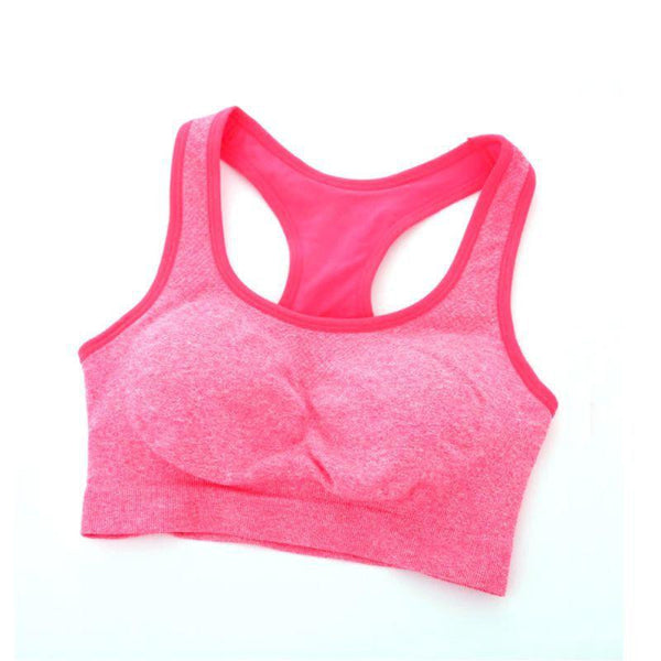Women Quick Drying Professional Bra Top Vest Underwear Fitness Padded Bra
