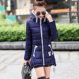 Online discount shop Australia - 3XL Plus Size Women New Fashion cotton Coat  thick Jacket Women Outerwear Hooded parkas Light Jackets Overcoat