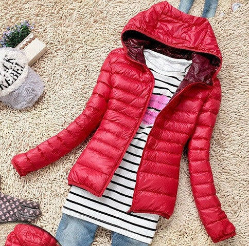 Parkas Female Down Jacket Women Coat Color Overcoat Women Jacket Parka