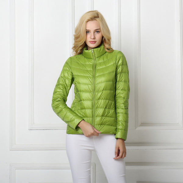 Online discount shop Australia - Duck Down Jacket Women Light Coat Female Warm Parkas for Women's Outwear 90% White Duck Down High Quality