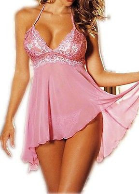 Sexy Plus Size Women Nightwear Sleepwear Babydoll Nightgowns Sleepshirts