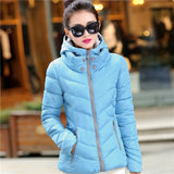 New Fashion Down & Parkas Warm  Coat Women Light Thick  Plus Size Hooded Jacket Female  Outerwear C1728