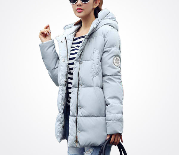 Long Parkas Female Women Coat Thickening Cotton Jacket Womens Outwear Parkas for Women Outwear