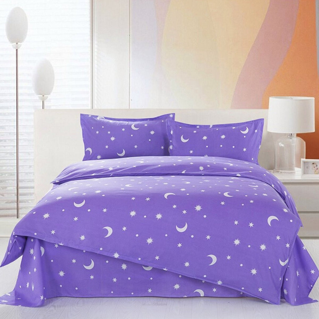 Duvet Cover with Pillow Case Quilt Cover Bedding Set All Sizes