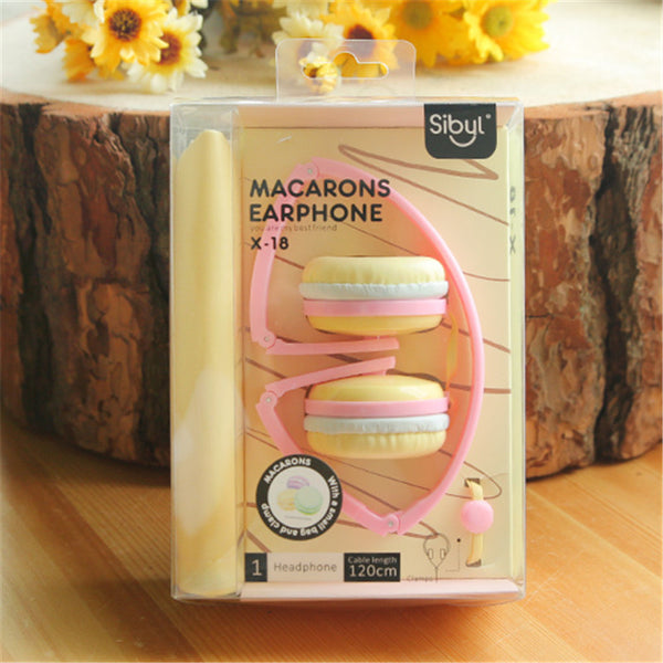New Birthday Gifts Cute Headphones Candy Color Foldable Kids Headset Earphone for Mp3 Smartphone Girl Children PC Laptop
