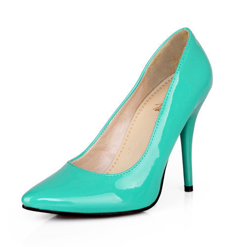 Online discount shop Australia - 7 Colors Women Stiletto High Heel Shoes Pointed Toe Sexy Wedding Fashion Sexy Platform Pumps Heels Shoes Big Size 34-44