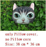 Online discount shop Australia - Creative Cartoon pillow decorative pillow Cat Cushion Cat Dog Nap Pillow Cushion and Washable Waist Pillow Cute seat cushion 8S2