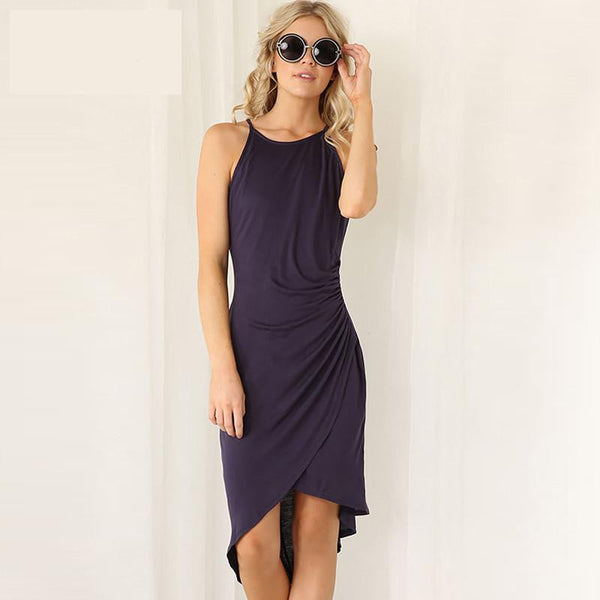 Women Dress New summer dresses casual women Clothing sexy and Solid Tank dresses 6070