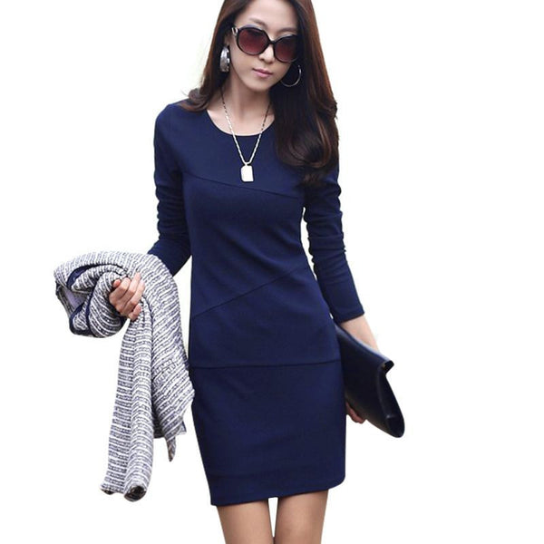 Online discount shop Australia - Fashion Women Bandage Bodycon Long Sleeve Evening Sexy Mini Dress