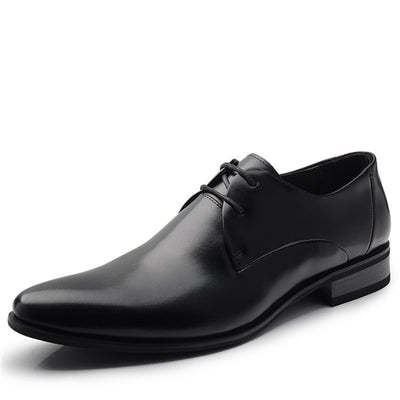 Online discount shop Australia - 100% Genuine Leather Men Dress Shoes Luxury Men's Business Casual Shoes Classic Gentleman Shoes Brand TAIMA 38-45