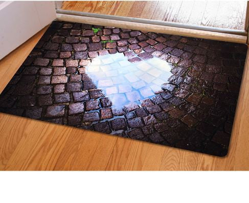 Fashion 3d Trap Printed Carpet For Living Room Bedroom Floor Mats
