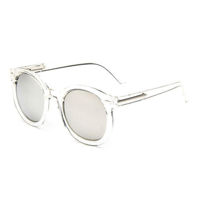 Transparent fashion eye glasses women sunglasses vintage sun glasses