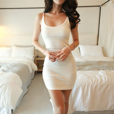 6040b7ea83bbd Casual Dresses Summer new arrival sleeveless tank dress sexy tight ...