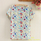 chiffion Batwing Short Sleeve T-Shirts women Loose Shirt Tees tops casual Tees clothes