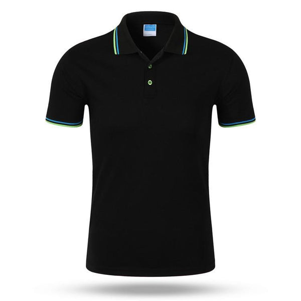46dde8ac81d Solid Men Polo Shirt Cotton Short Sleeve Polo Homme Casual Clothing Slim  Fit Designer Shirts