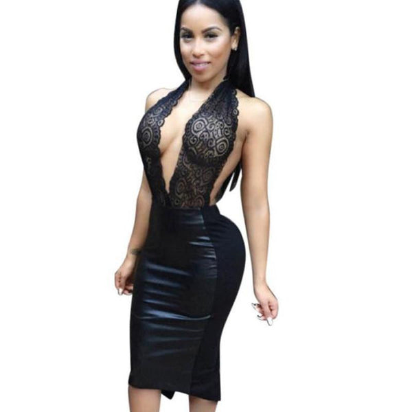 5d47578bccc4 Western Style Women Dress Sleeveless Sexy Dresses For Ladies Womens Sexy  Dresses Party Night Club Dress