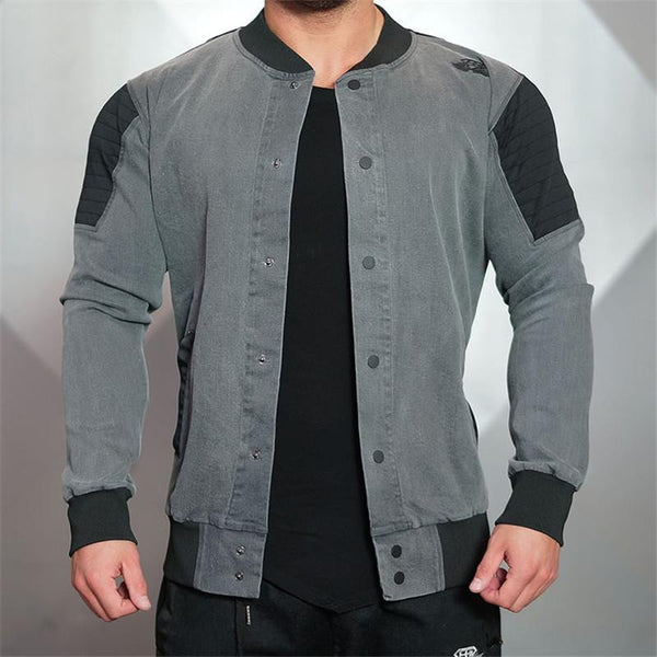 Top Quality Boutique Brand Jacket Men Slim Fit Male Casual Jackets For Men