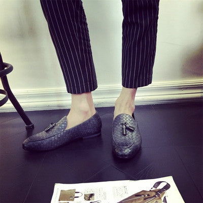2019 Style Men Oxfords Breathable Mesh Leather Shoes Men Luxury Brand Patchwork Business Dress Shoes Footwear Big Size 5.5~13.5 Finely Processed Men's Shoes Formal Shoes