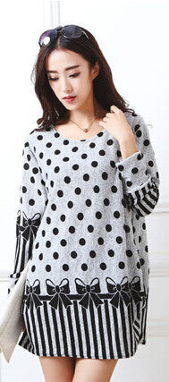 Online discount shop Australia - New autumn winter Fashion Women long sleeve Dresses Plus Size Dress Loose girl casual tops 4xl 5XL tunic pullover elegant