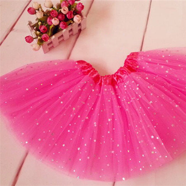Online discount shop Australia - Children Fluffy Pettiskirts Tutu Saias Baby Girls Skirts Princess Skirt Girls Dance Wear Party Clothes 2-7Y