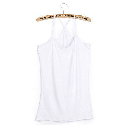 Online discount shop Australia - Cotton slim Y style spaghetti strap basice shirt 10 color for choose women's vest /cotton top tank camis