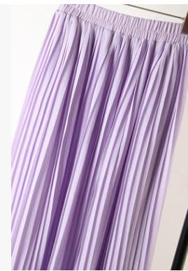 women's bohemian chiffon pleated bust skirts woman casual beach skirt 7 colors
