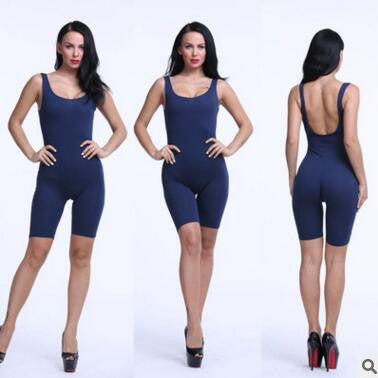 Rompers Womens Jumpsuit Overalls Bodysuit Skinny Sleeveless Backless Bodycon Jumpsuit Women Playsuit