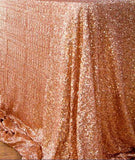 Online discount shop Australia - 125x180cm Champagne/Gold/Silver Embroidery Mesh Sequin Tablecloth Sequin Table Overlay for Wedding/Party Decora