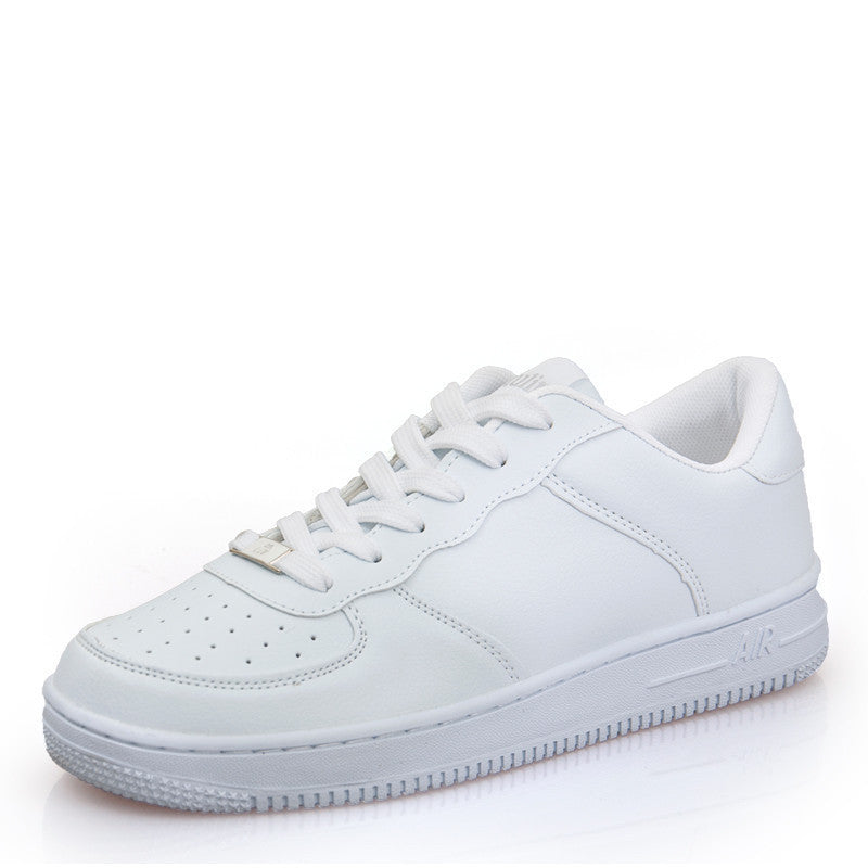 Newest Classic All White Unisex Casual Shoes Footwear High Top Men Women Breathable Walking Shoes Plus Size Outdoor Shoes 35-44white 623Aa