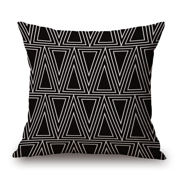 Online discount shop Australia - Fashion High Quality Cotton Linen Nordic Geometry Plus, Dot, Square Decorative Throw Pillow Case Cushion Cover Sofa Home Decor