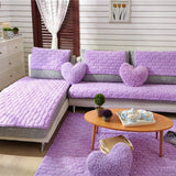Online discount shop Australia - 4colors 2/3 Seat Sofa Covers Fleeced Fabric Knit Eco-Friendly Anti-Mite Manta Sofa Slipcover Couch Cover for living/Drawing Room
