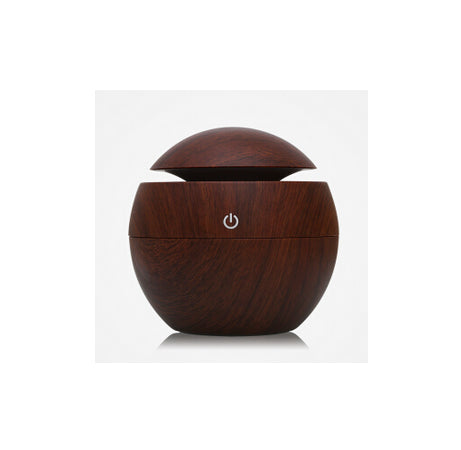 Online discount shop Australia - Mini Portable Mist Maker Aroma Essential Oil Diffuser Ultrasonic Aroma Humidifier Light Wooden USB Diffuser For Home Office