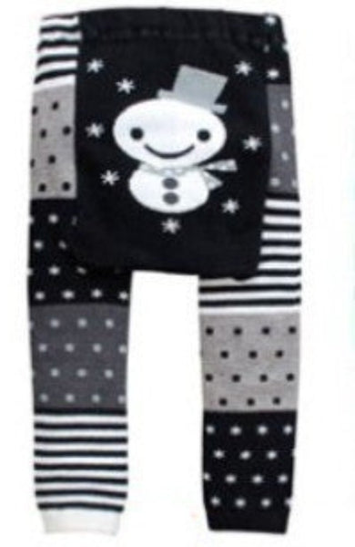Online discount shop Australia - Baby Pants cartoon print knitted busha pp pants elastic waist toddler Leggings Kids Clothes 3-24 M