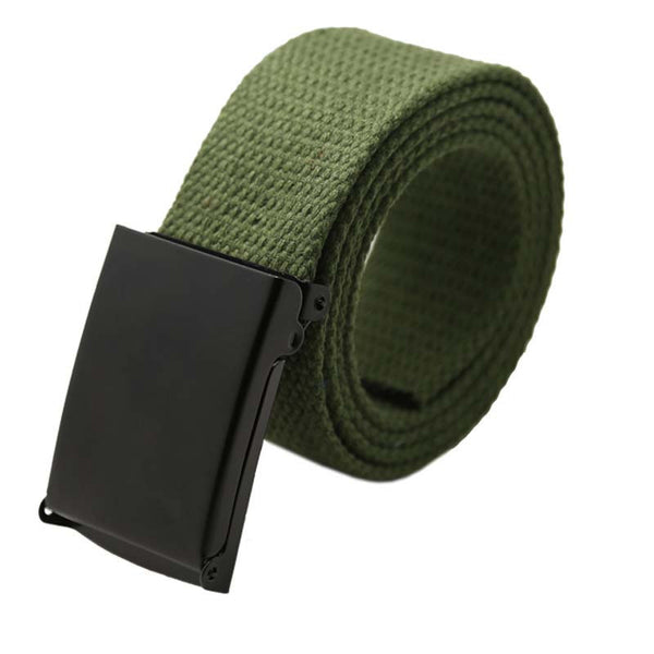Online discount shop Australia - Men Belt New Fashion Unisex Army Tactical Waist Belt Jeans Male Casual Luxury Canvas Webbing Waistband