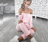 Off Shoulder Rompers Jumpsuit Women Long Sleeve Elegant Casual Party Black Pant Hollow Jumpsuit Overalls Women