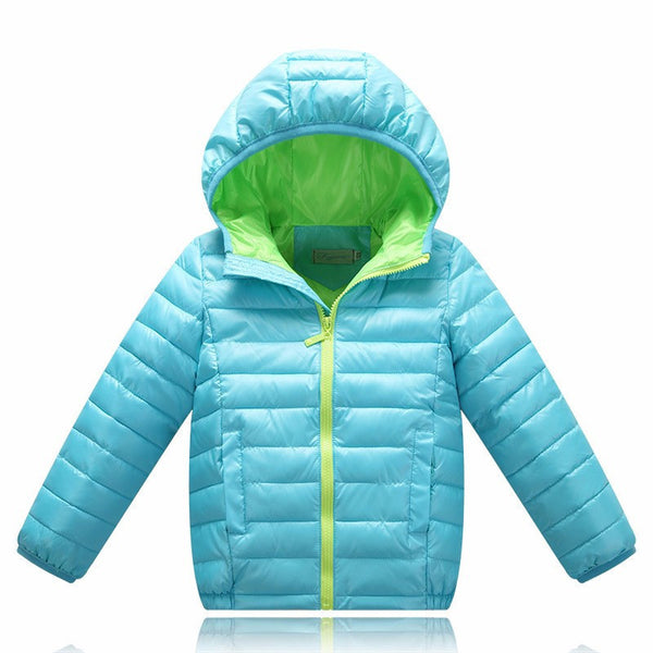 Online discount shop Australia - 5-13 years old Children Jackets For Boys Girls White Duck Down baby boy clothes down coat
