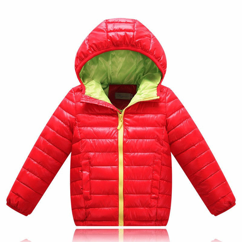 5-13 years old Children Jackets For Boys Girls Winter White Duck Down baby boy clothes down coat4a