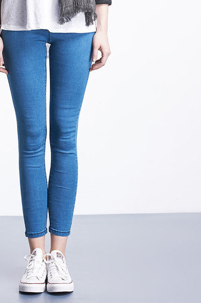 Online discount shop Australia - Casual Women Jeans Pant Slim Stretch Cotton Denim Trousers jeans for woman Blue 4xl 5xl 6xl
