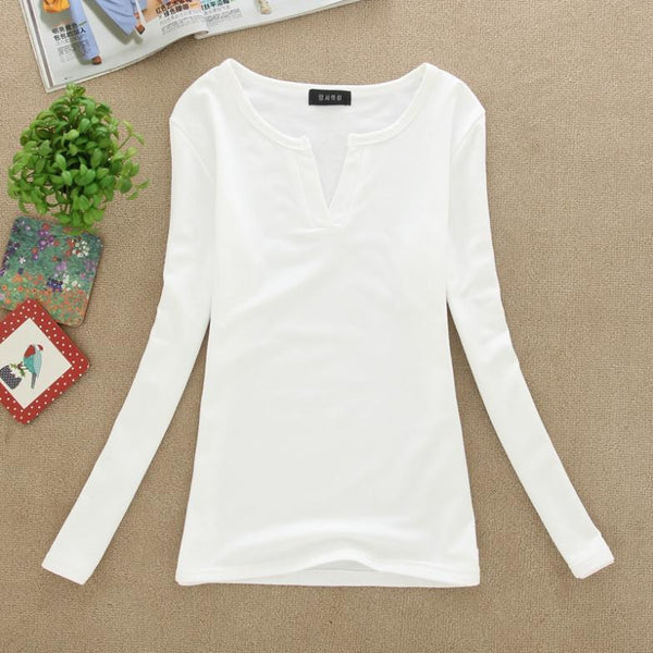 V-Neck Women Blouses crochet Plus Size Knitted Clothes Long Sleeve Tops for Women clothing