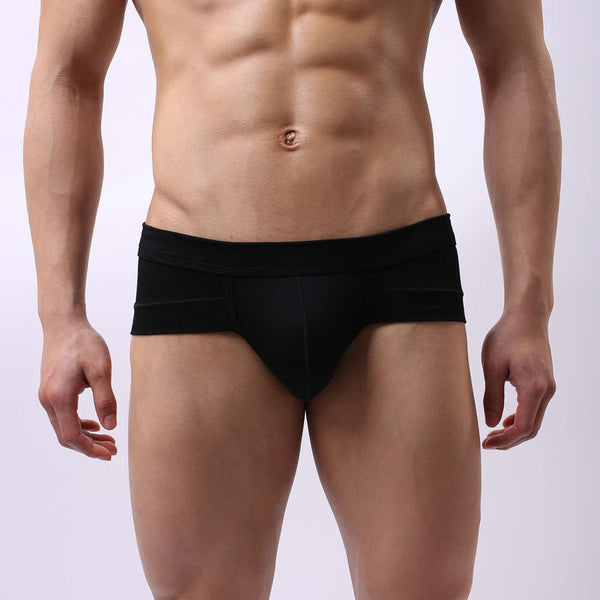 Online discount shop Australia - High qualitySexy fashion brand Modal U convex men's underwear male modal panties male sexy mens panties man