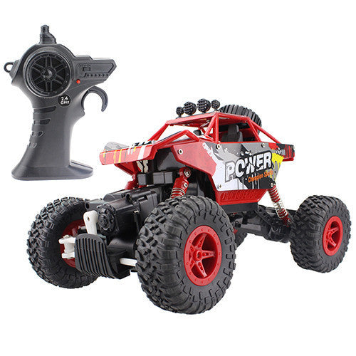RC Car 2.4G 4CH 4WD Rock Crawlers 4x4 Driving Car Double Motors Drive Bigfoot Car Remote Control Car Model Off-Road Vehicle ToyReda