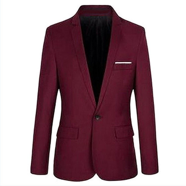 new leisure Suits Men Slim small suit coat Boys and young men thin suit #MC016