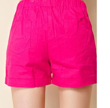 Shorts Women Casual Fashion Candy Color s Shorts Female Plus Size Loose Ladies Leisure Shorts