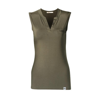 Women V Neck Tanks Sleeveless Solid Color Modal Tops & Tees Womens Elegant Tanks tops & Vest