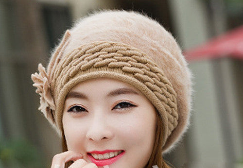 Online discount shop Australia - Beanies Women's Hats For Women Knitted Bonnet Caps Women's Hats Brand Ski Wool Fur Sports Beanie Skullies Hat