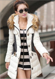 Online discount shop Australia - 1PC  Jacket Women Parka Fur Collar Thickening Cotton Padded Coat  BB0041