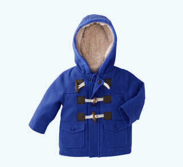 New Baby Boys Children outerwear Coat Kids Jackets for Boy Girls Jacket Warm Hooded Children Clothing gray Khaki redBluea