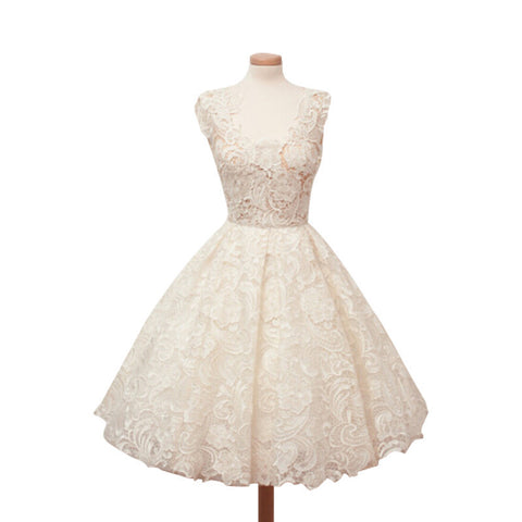 Online discount shop Australia - Elegant Lace Patchwork Solid Sleeveless A-Line Fashion Dress Sexy Slim Party Dresses Vestido De Festa