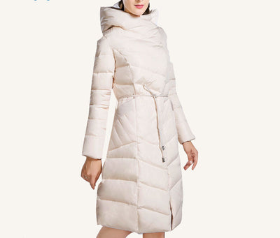 Online discount shop Australia - High Quality  Jacket Women Plus Size Long Fashionable Women's Coat Hooded Warm Down Jacket Parka 4XL